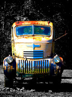 Painted With Time-'41 Chevy Cab Over